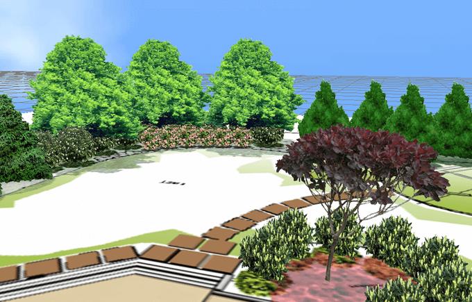 3D Landscape Designs | 3D Rendering | PRO Landscape