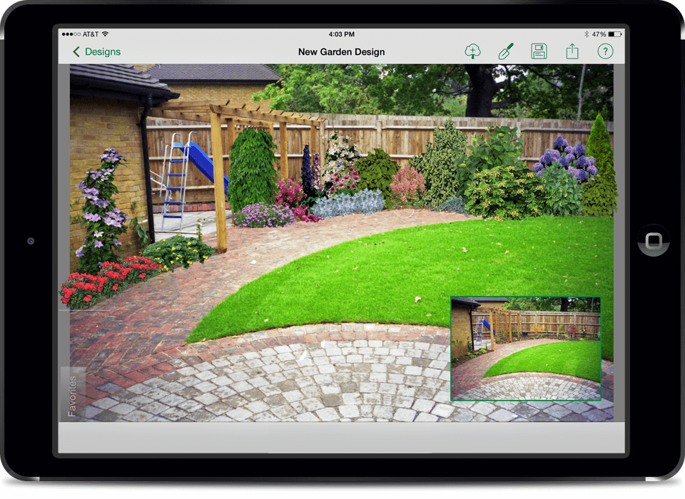 Home app rendering on tablet - Home App PRO Landscape Home App
