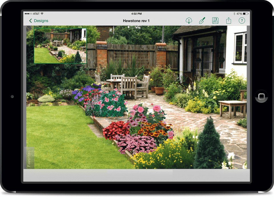 Home app patio rendering