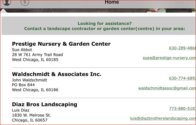 professional listings