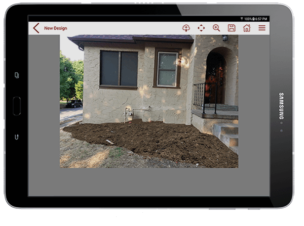 have fun designing your dream landscape with the pro landscape home app - Apps For Designing Houses